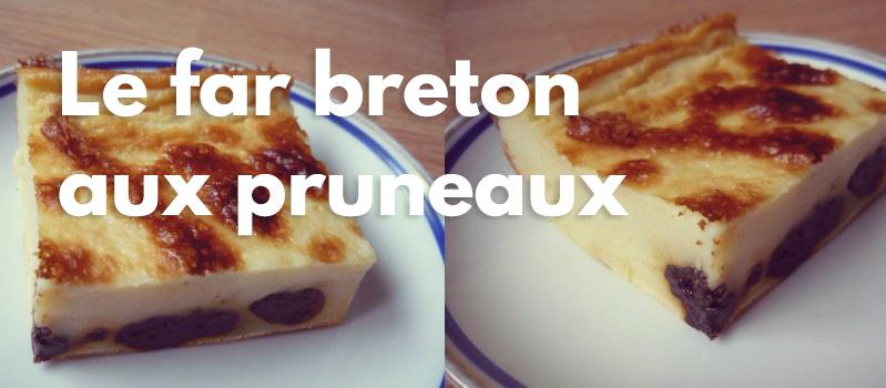 Recette:Le far breton aux pruneaux
