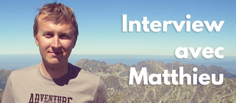 Francúz Matthieu: Prečo žije na Slovensku a ako sa mu učila slovenčina?